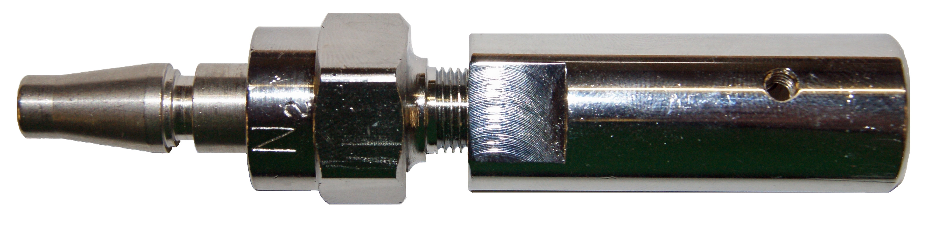 Schrader to Compressed Gas Adapter